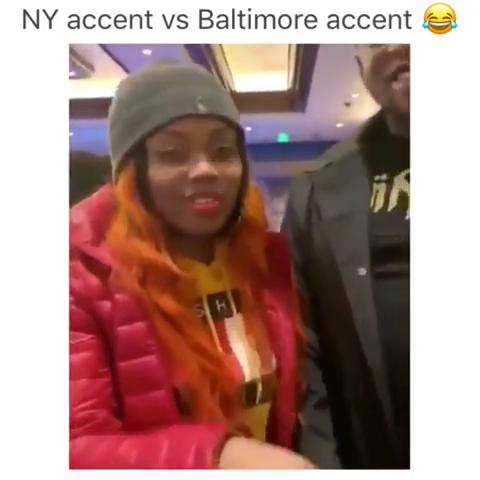 NY accent VS Baltimore accent