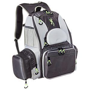 Browning fishing backpack tackle bag bass pro shops the for Browning fishing backpack