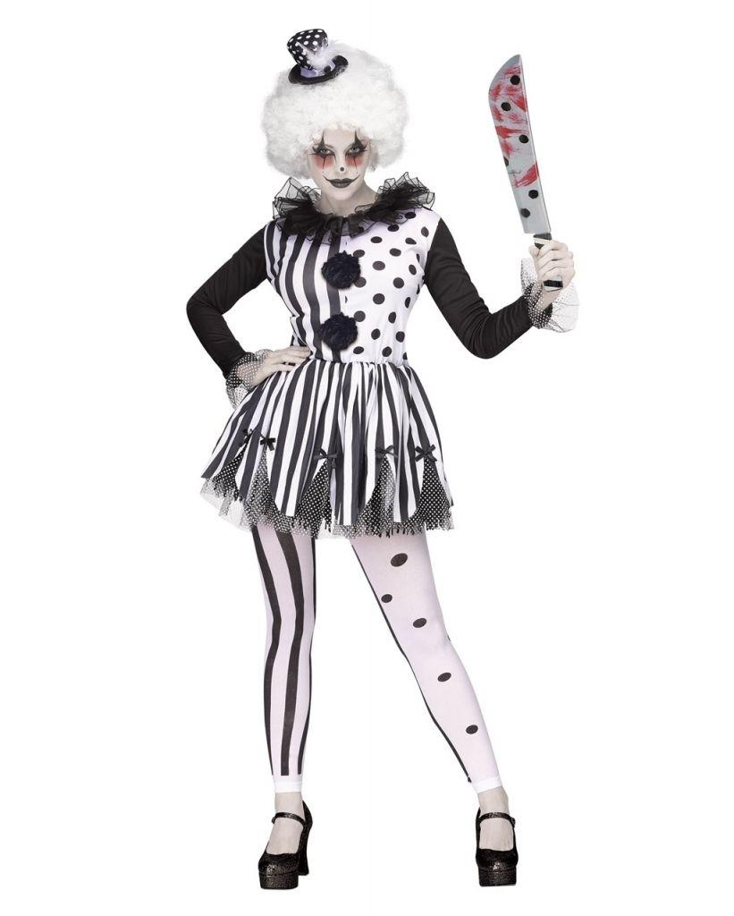 The Brilliant Horror Clown Kostum In 2020 Horror Clown Kostum Clown Kostum Horror Clown Kostum Damen