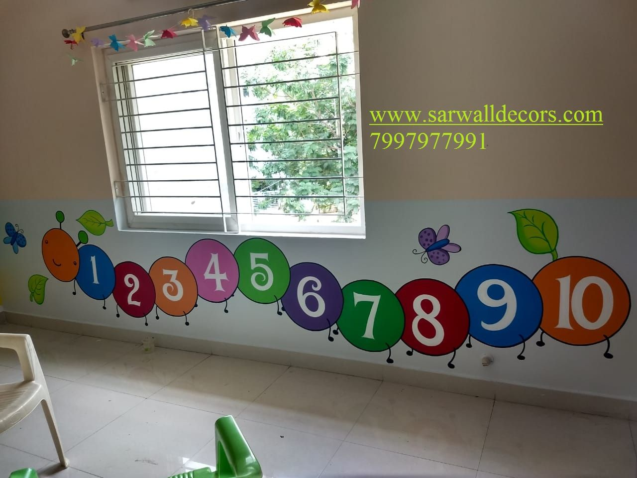Wall Art For Kindergarten Playschool Wall Painting Hyderabad