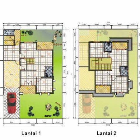 contoh denah rumah minimalis type 70 terbaru 2018   denah