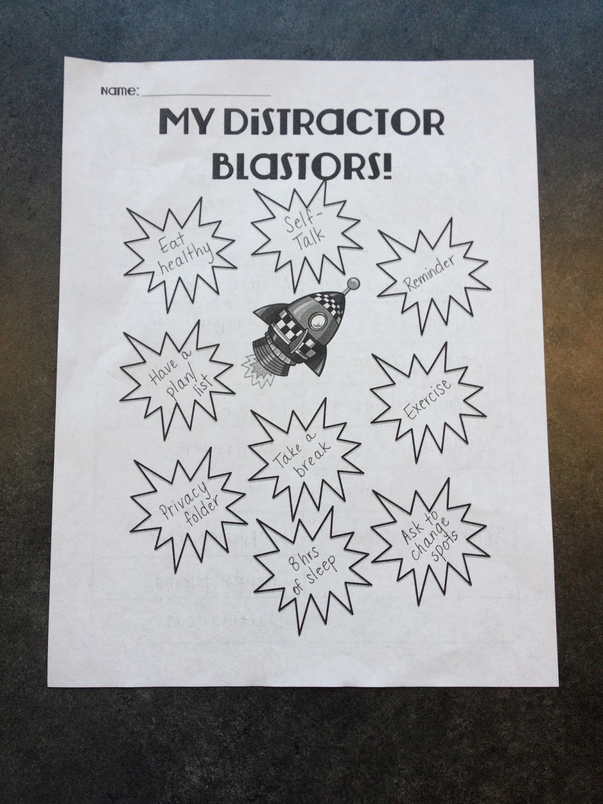 Ms Sepp S Counselor Corner Free Distractor Blaster