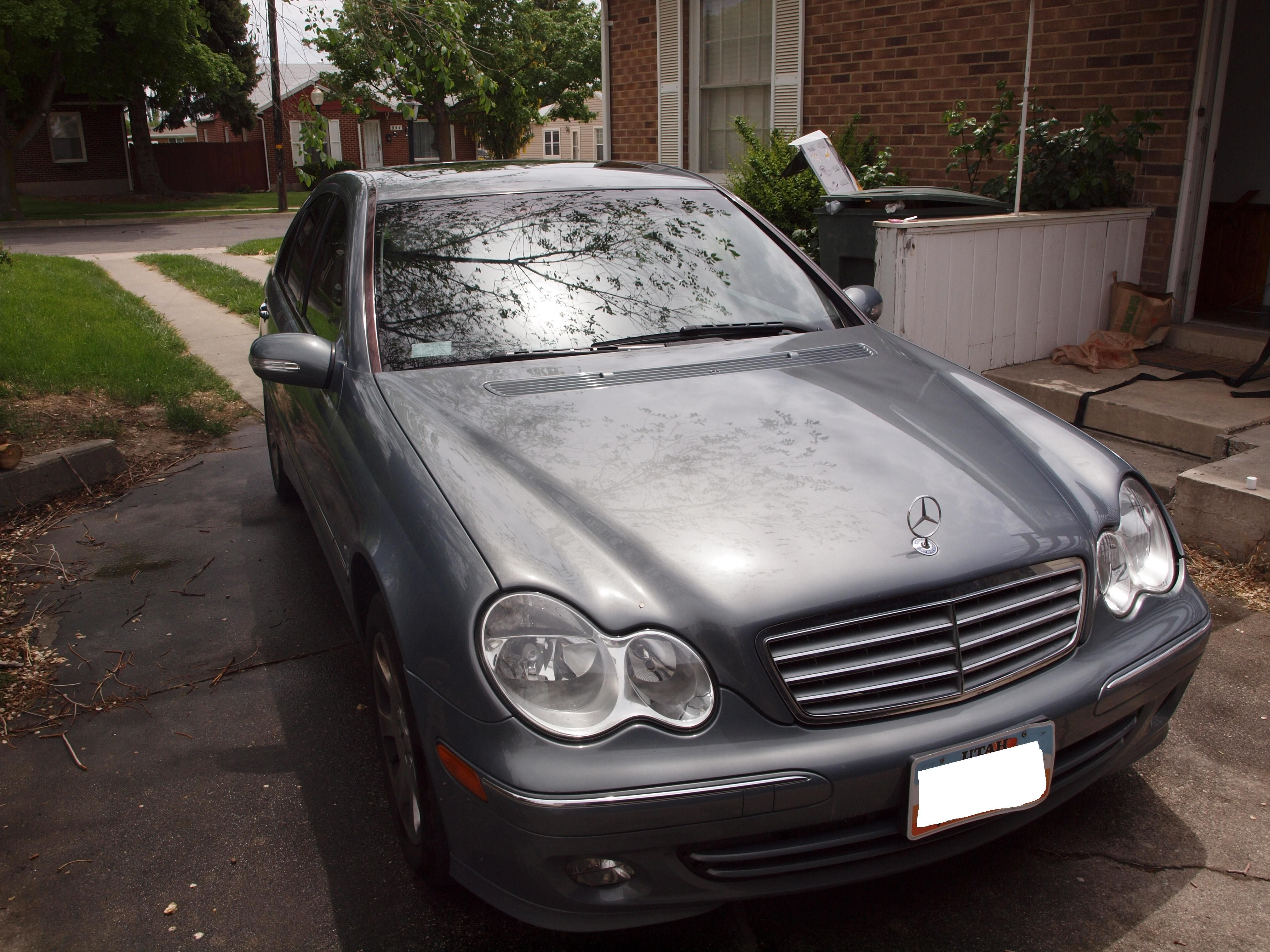"2005 Mercedes Benz C240 4-matic. Loved this car! Not as ""Mercedes Benz"" as the C280, but still a good car."