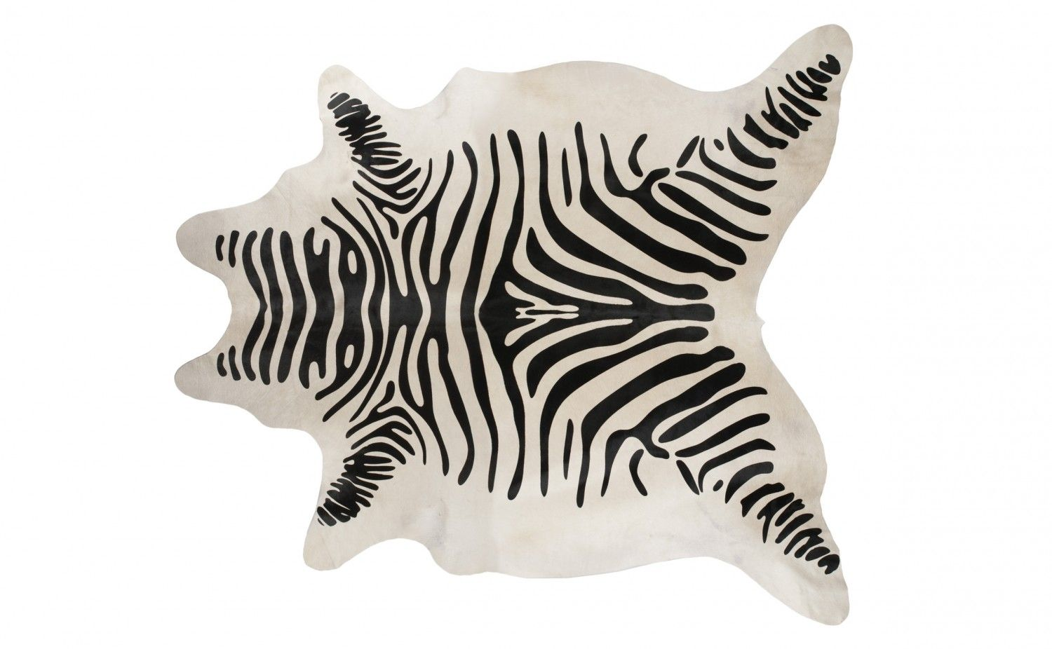 Faux Zebra Hide With Images Rug