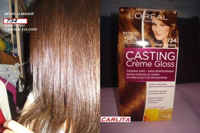 loreal casting cr me gloss 734 hair pinterest loreal casting creme gloss hair and loreal hair. Black Bedroom Furniture Sets. Home Design Ideas
