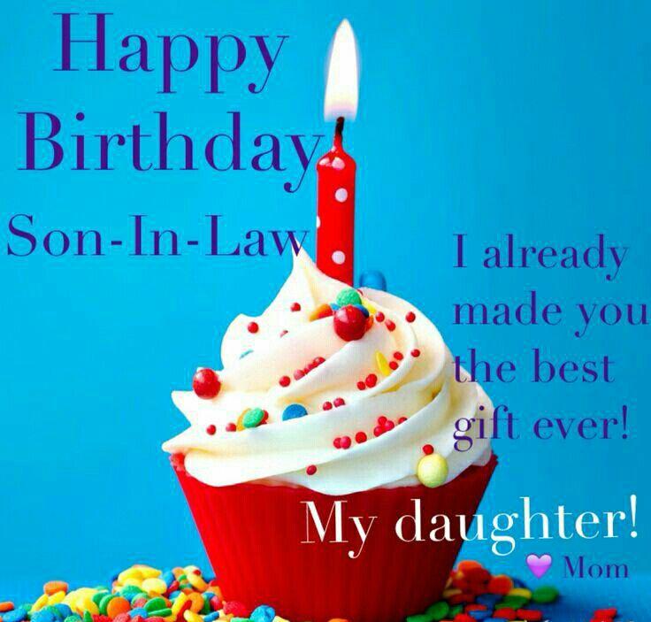 Happy Birthday Son In Law ☆♡wow Wow Wow Wow Wow