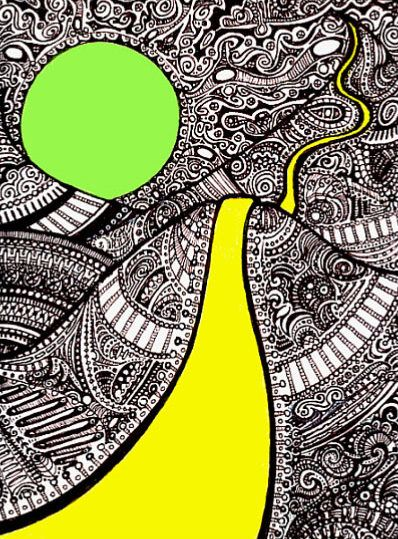 Psychedelic Romp Through Oblivion by Dayla Janke