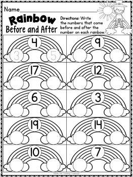 St. Patrick's Kindergarten Pack ~ Print & Go, No Prep