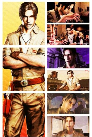 David King (Resident Evil Outbreak) :) my favorite character