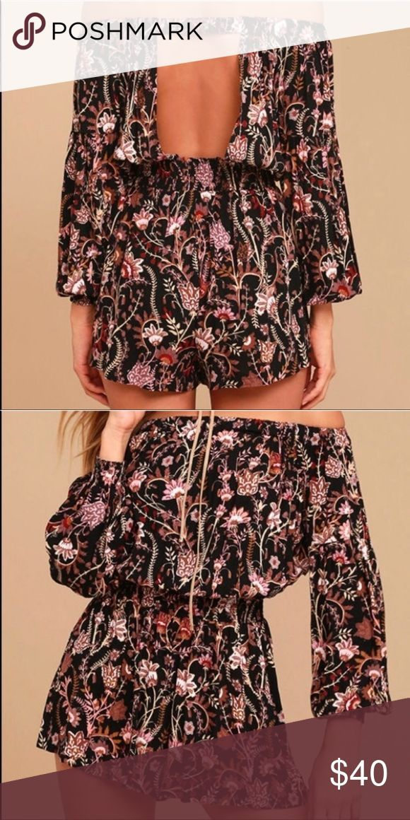 Free People Open Back Romper OOT IF PURCHASED WILL SHIP OUT FRIDAY 19th Fr    Free People Open Back