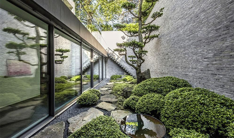 gartenlandschaft peter berg privatgarten am hang rheinland garten moderner japanischer