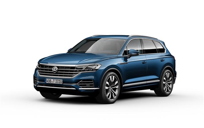 Herunterladen Hintergrundbild Volkswagen Touareg 2019 4k Luxus