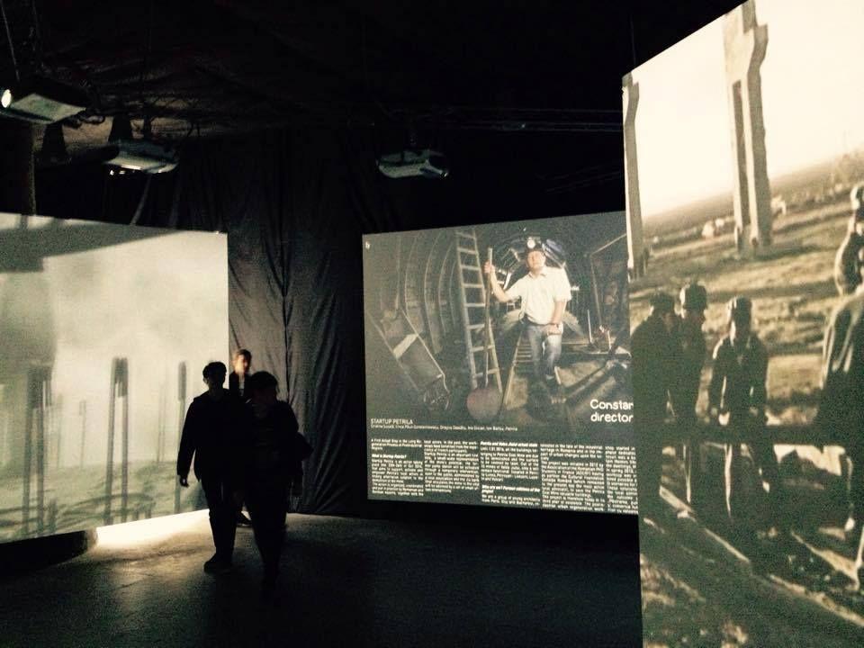 Romanian Pavilion, Venice Biennale 2014, #Petrila #SiteUnderConstruction