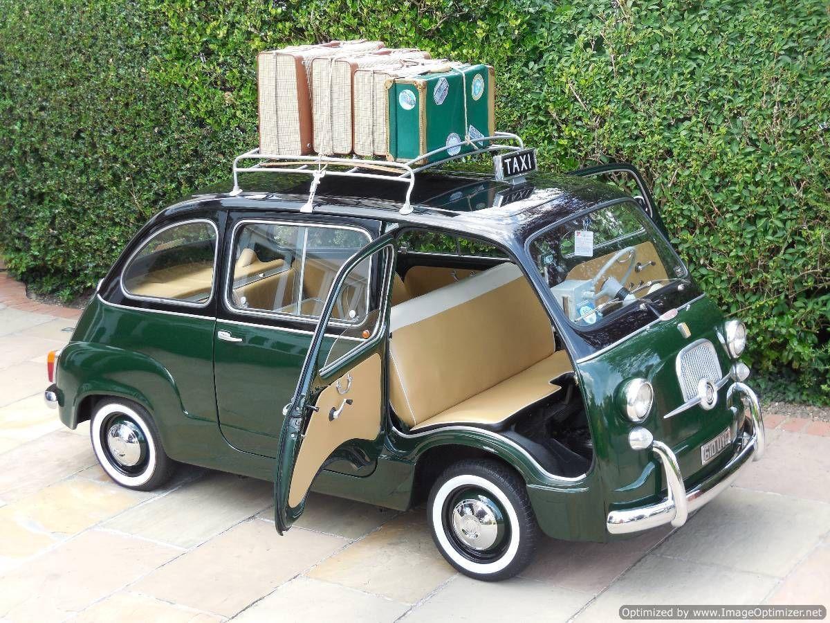 Fiat 600D Multipla Taxi MPV Classic / LHD / 1964 / 6K Miles / 3 ...