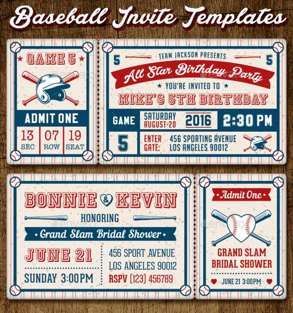 ticket invitation template 61 free psd vector eps ai format download