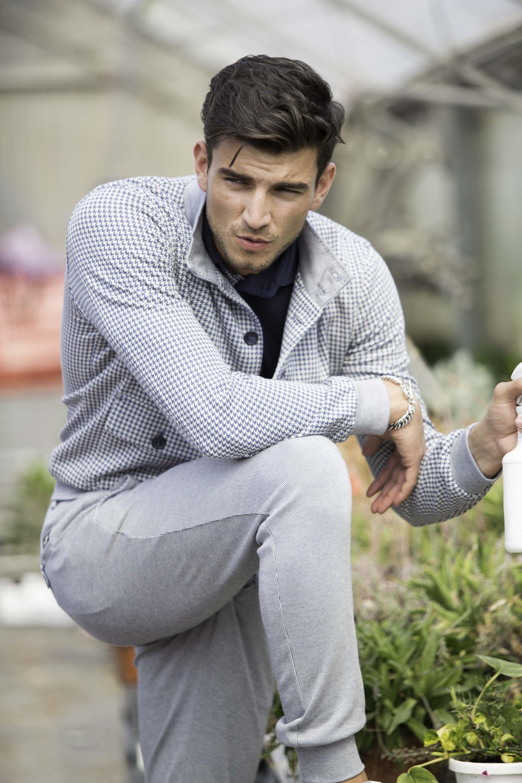 Masonus man jogging pants model torino pinstripes masons a pant