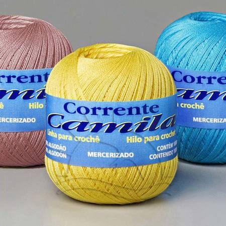 Linha Camila 1000 Thread Crochet Crochet Designs Yarn Tools