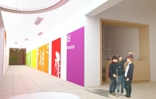 A school interior design on Behance school Pinterest School