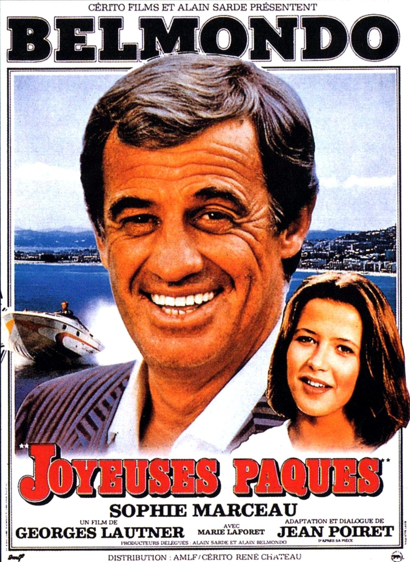 Joyeuses pâques 1984 Jean paul belmondo, Belmondo film