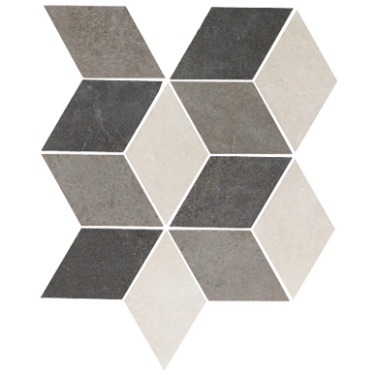 Rhombus mosaic rhombus wall amp floor tiles fired earth tiles