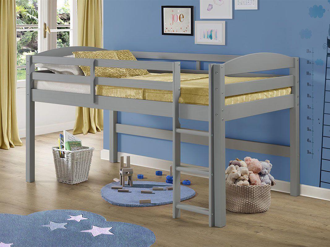 Dupuis Solid Wood Twin Loft Bed Low Loft Beds Twin Loft Bed