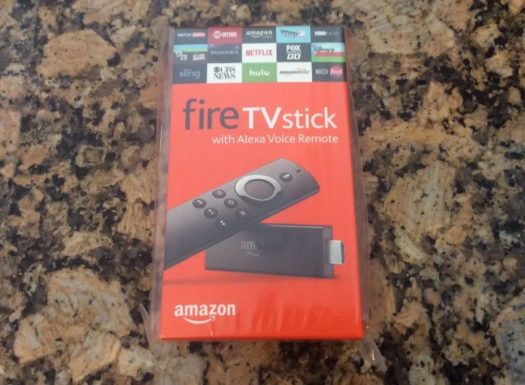 Fire stick new out the box Kodi add on with Alexa voice