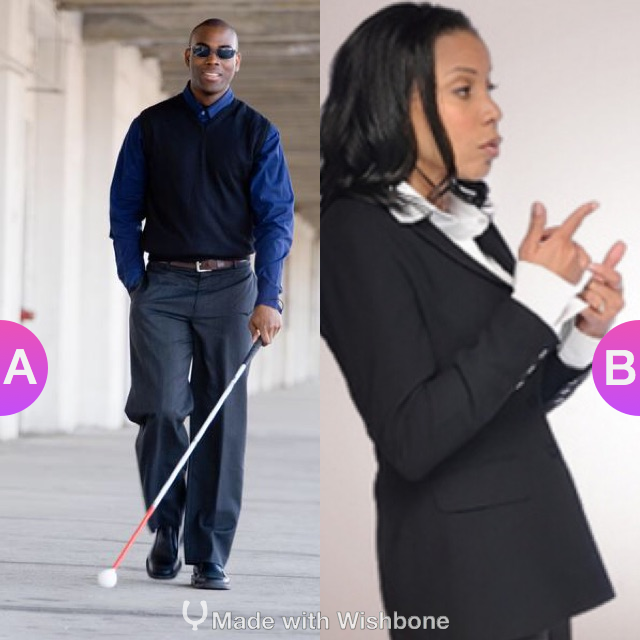 If you had the choice, would you rather be blind or deaf? Make yours @ http://bit.ly/Wish2