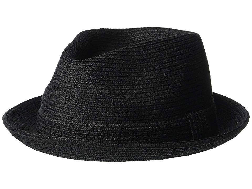 "Style# 81670 Bailey of Hollywood /""Billy/"" Braided Trilby Straw Fedora"