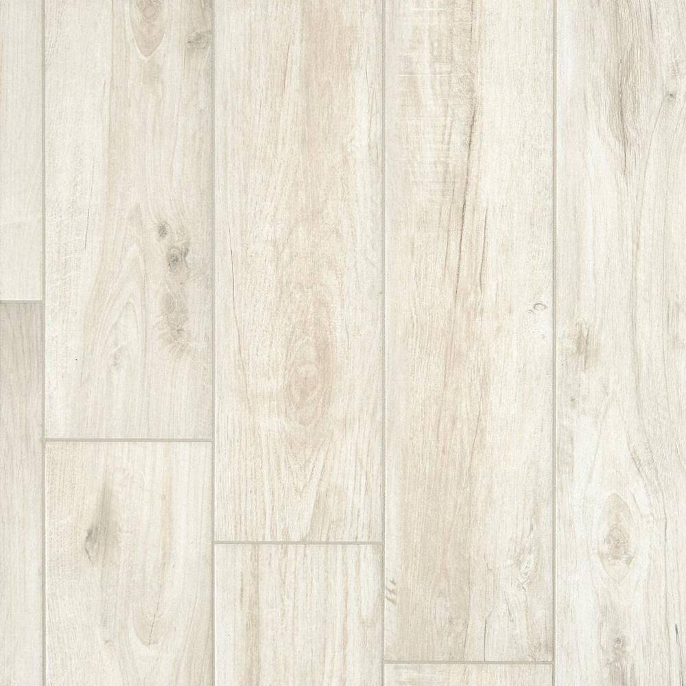 Savannah White Wood Plank Porcelain Tile 8in. x 48in