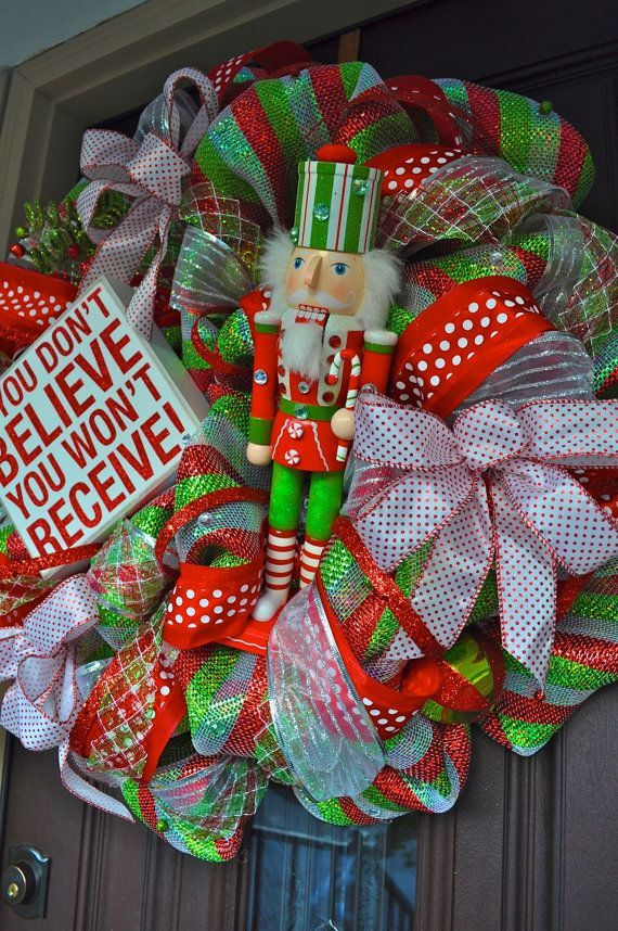 Nutcracker Christmas Decorations | Christmas Wreath, Nutcracker Wreath,  Nutcracker, Christmas Decor .
