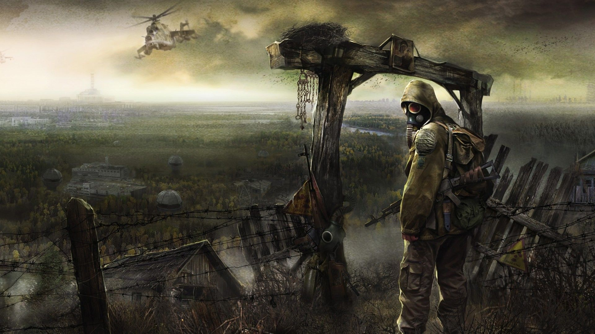 Pripyat Futuristic Apocalyptic Video Games S T A L K E R