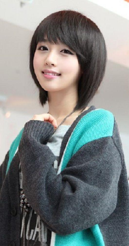 Koreanische Frisur Frauen Kurze Haare Kurze Frisuren