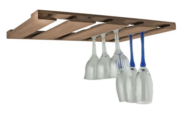 Ceiling Mounted Rack Wine Hanging Gl