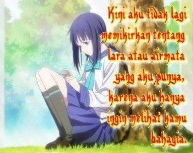 88 Gambar Quotes Anime Sedih Paling Bagus