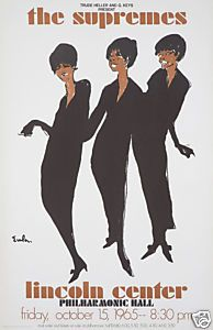 Diana Ross /& The Supremes Vintage Motown Music Concert Poster Print