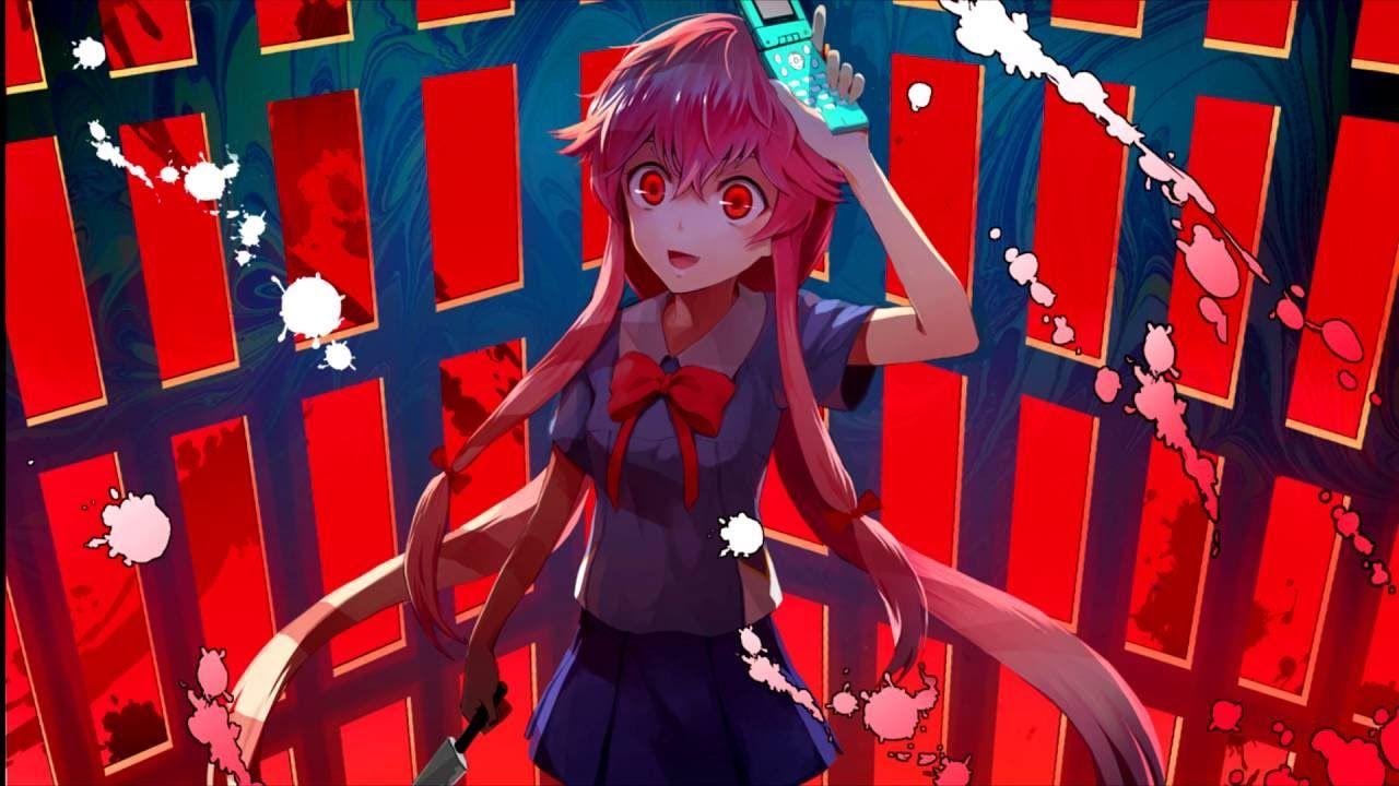 RED Love Theme of Gasai Yuno Anime songs, Yuno, Anime