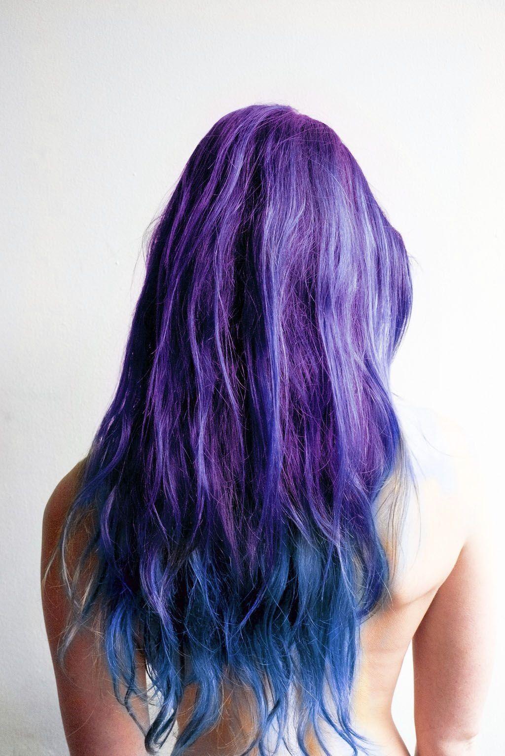 Purple blue ombre hair hair pinterest blue ombre hair ombre