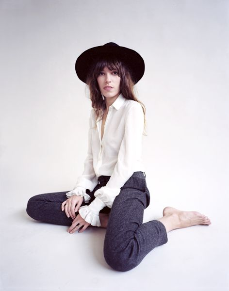 Lou Doillon for Stella Magazine; 2013
