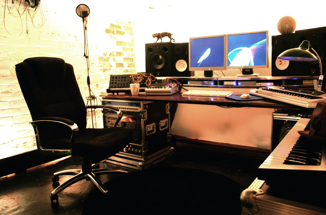 modular studio setup music rooms home recording. Black Bedroom Furniture Sets. Home Design Ideas