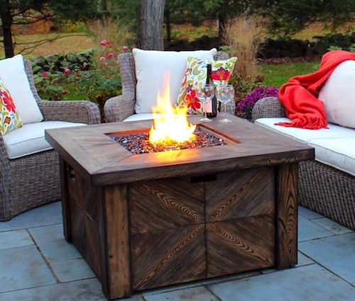 Patio Furniture With Fire Pit Costco