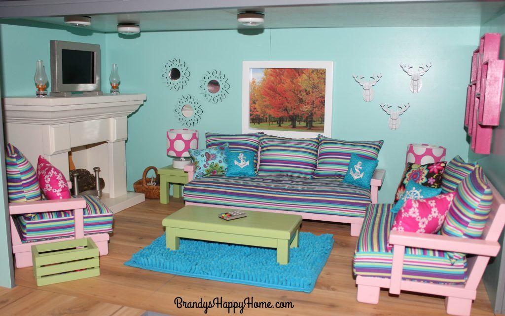 American girl dollhouse diy bedroom decor for girls