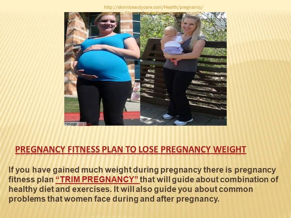 Pregnancy fitness plan is such program that guides about special combination of healthy diet and exercise that is appropriate for each the stages of pregnancy.