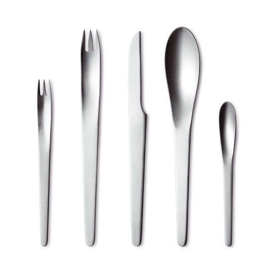 cutlery besteck couvert design arne jacobsen flatware 1957 pour ma cuisine. Black Bedroom Furniture Sets. Home Design Ideas