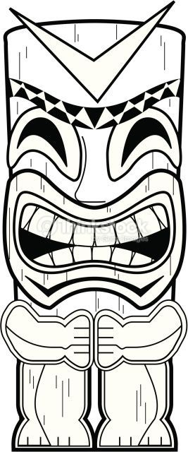 Tiki Mask Aj : Totem, Totem,, Party,