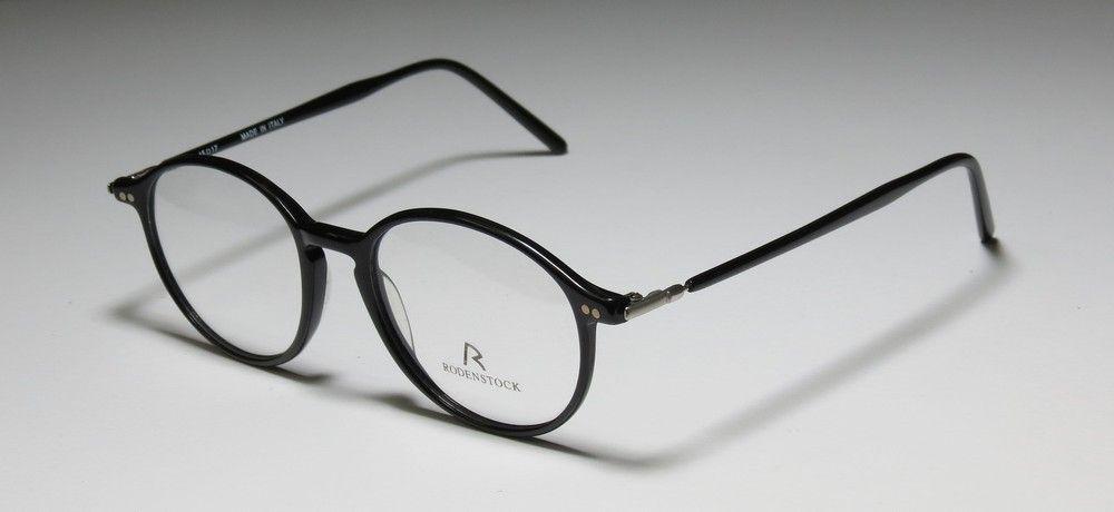 b5bead6f53 New rodenstock r8108 45-17-135 light yellow black eyeglass frame ...