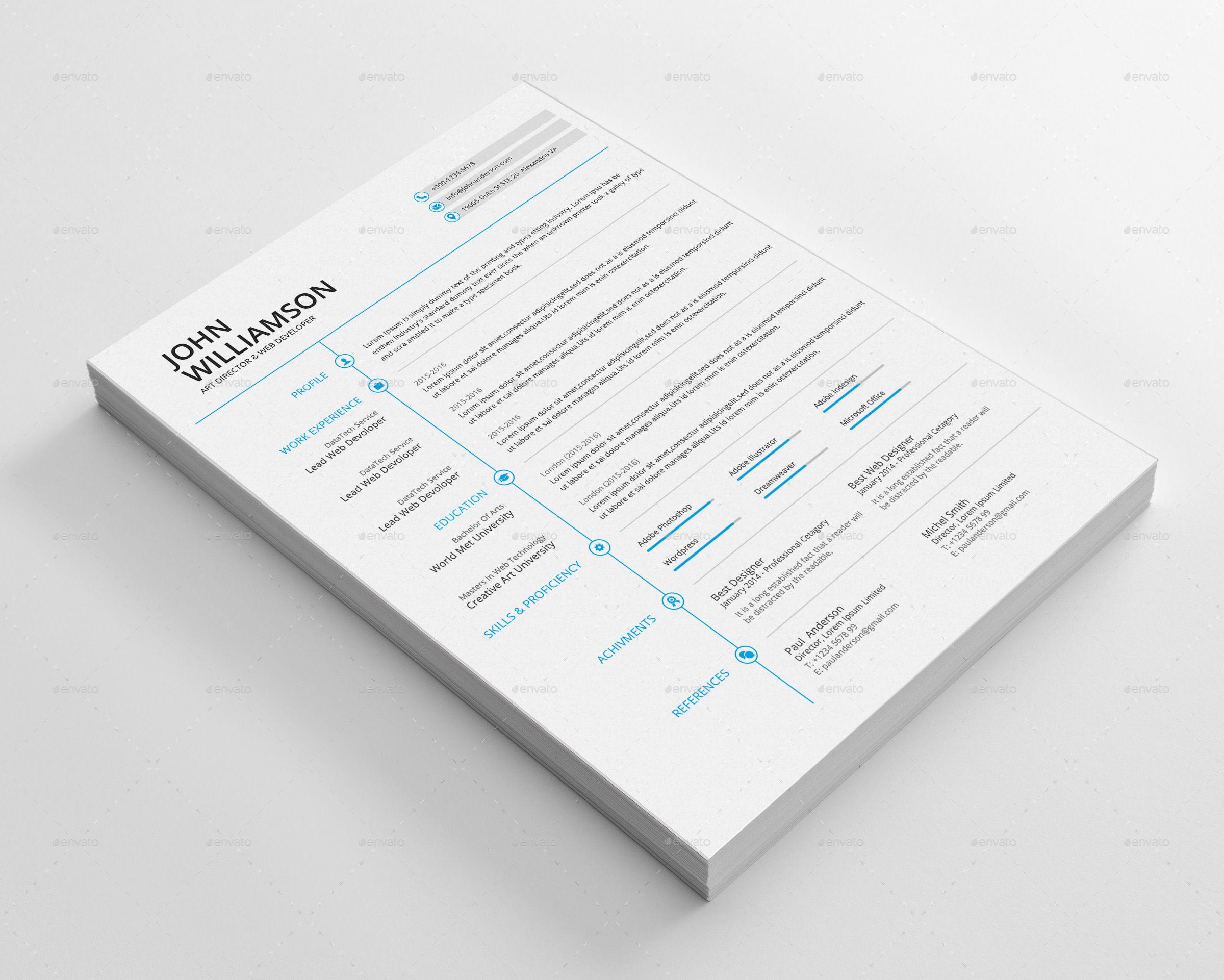Resume & Cover Letter #Ad #amp, #SPONSORED, #Resume, #Letter ...