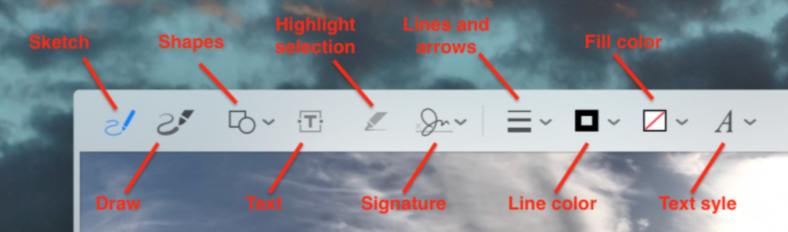 How to Enable Markup Annotation Tools in macOS Mac