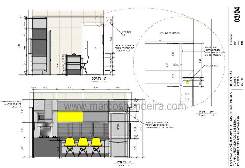 Projeto De Arquitetura De Interiores Com Sketchup Parte 1 Com