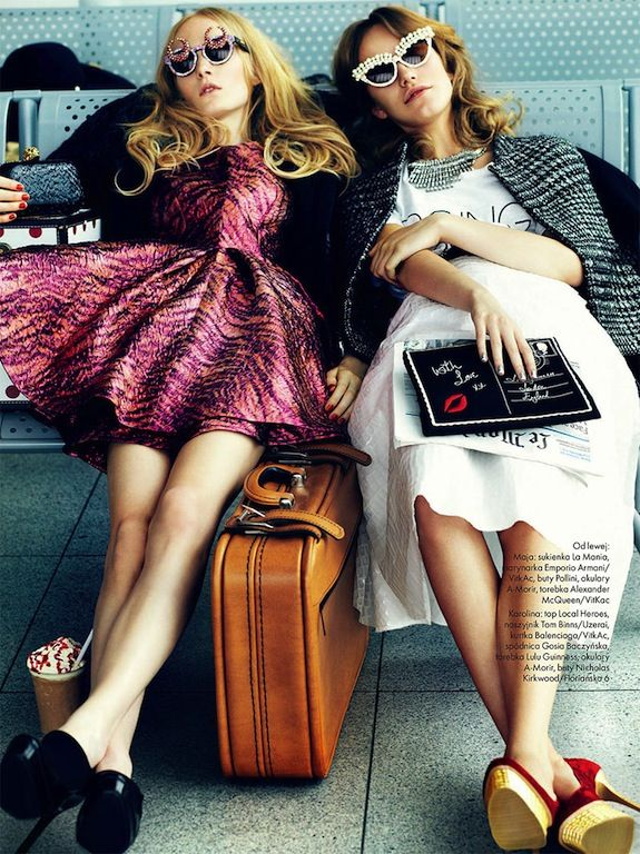Elle Poland November 2012 Editorial Fashion Cute Fashion Fashion