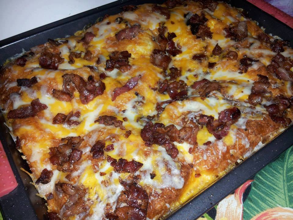 Photo of Sunday Morning Bacon, Egg & Cheese Biscuit Bake